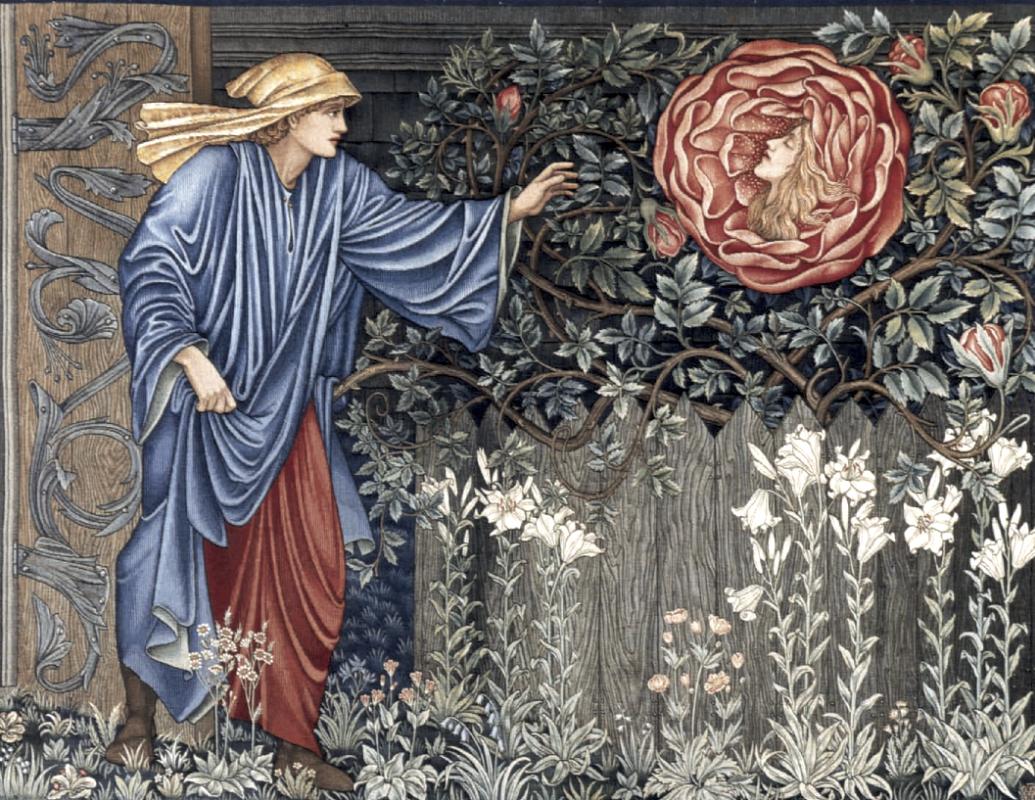 Эдвард Коли Бёрн-Джонс. Сердце розы