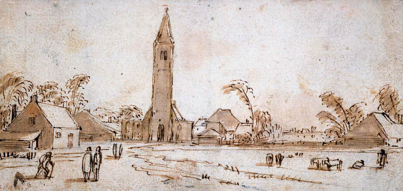 Даниэль ван Хейл. Башня