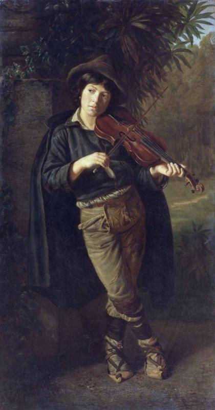 Павел Петрович Чистяков. Мальчик, играющий на скрипке