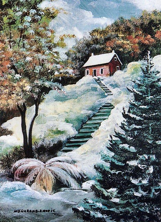 Мари-Жанна Гаранд-Лавои. Зима