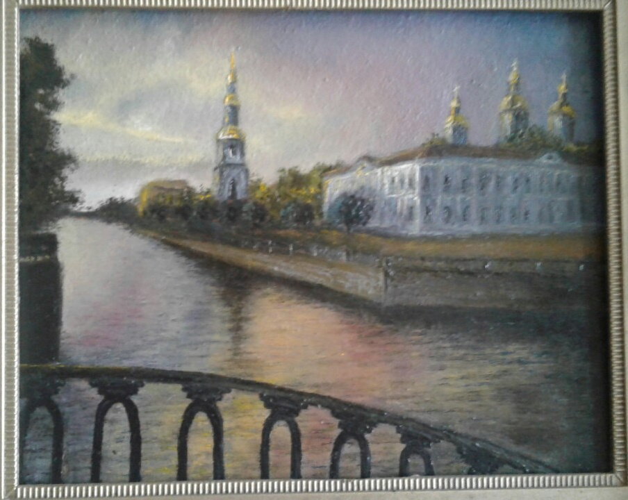 Koroleva Tatyana. St. Nicholas Cathedral in St. Petersburg