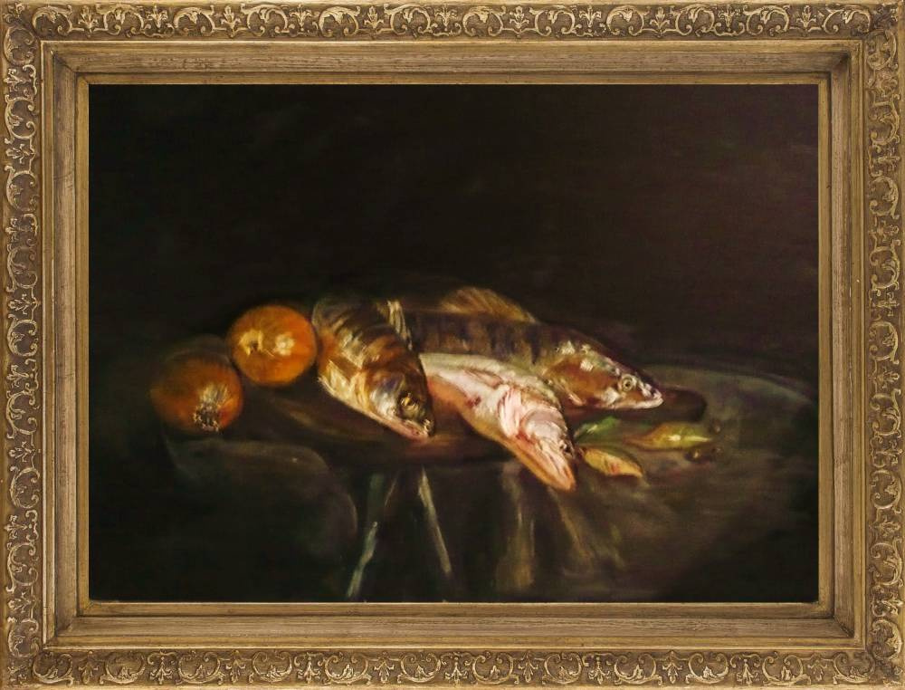Alastair Macwizard. Fish and vegetables