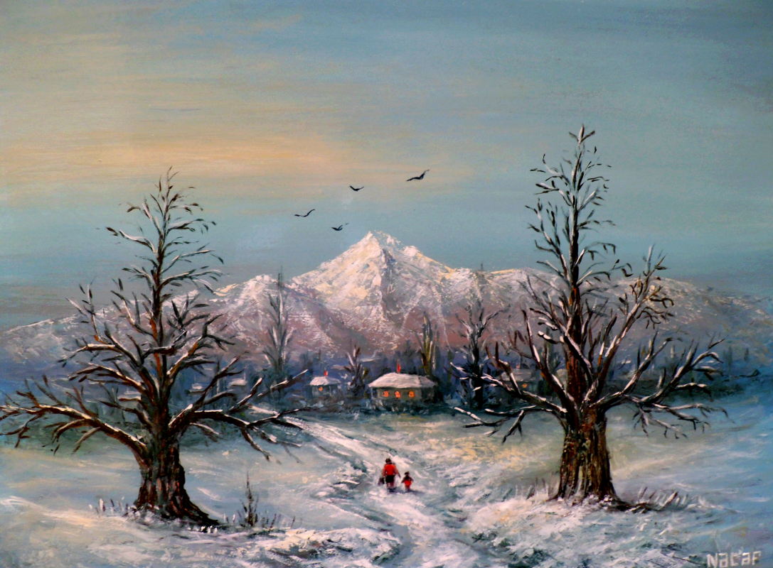 Najaf Mamedali oglu Mamedov. Winter