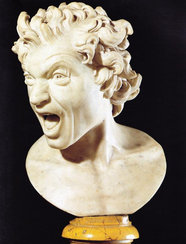 Gian Lorenzo Bernini. Damned soul
