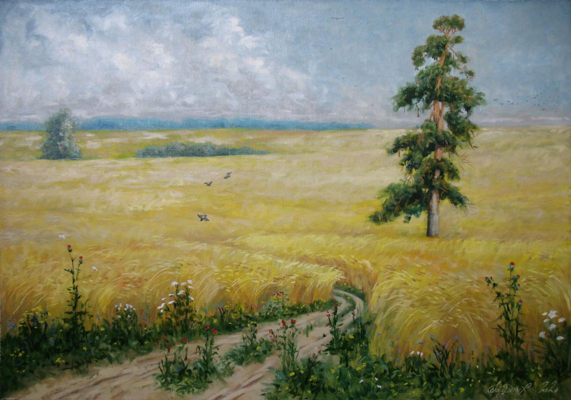 Alexander Nikolaevich Bezrodny. August.Rye