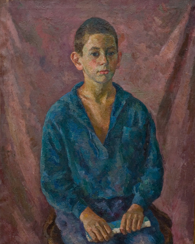 Портрет мальчика с книгой (Валерий Фальк)