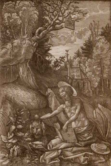 Hans Wehtlin. The penitent Saint Jerome