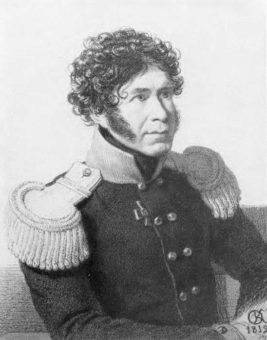 Орест Адамович Кипренский. Портрет неизвестного военного