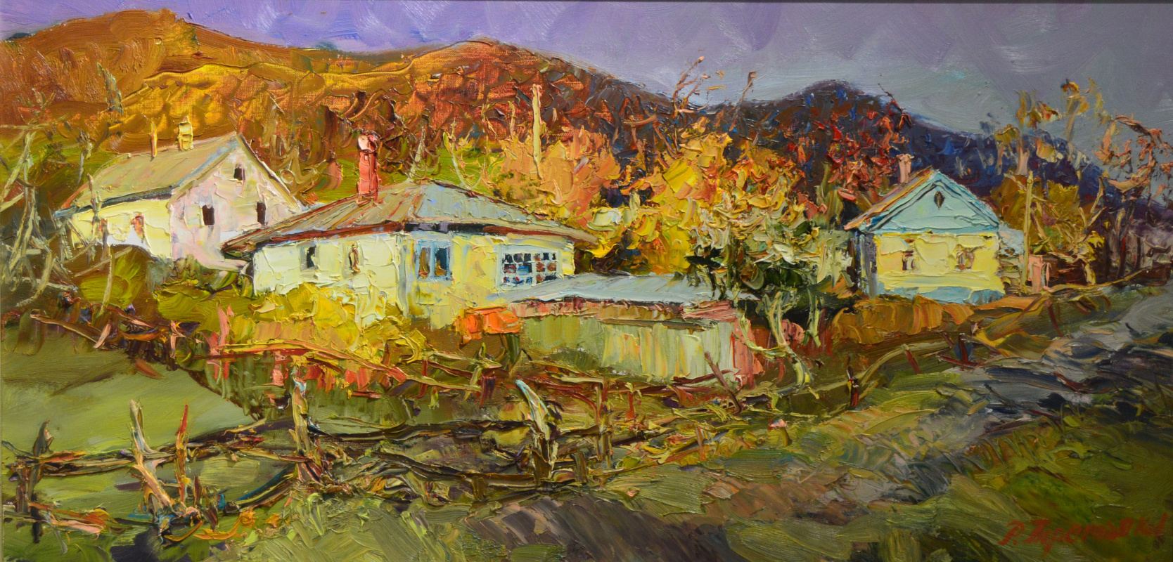 Roman Tretyakov. The colors of autumn