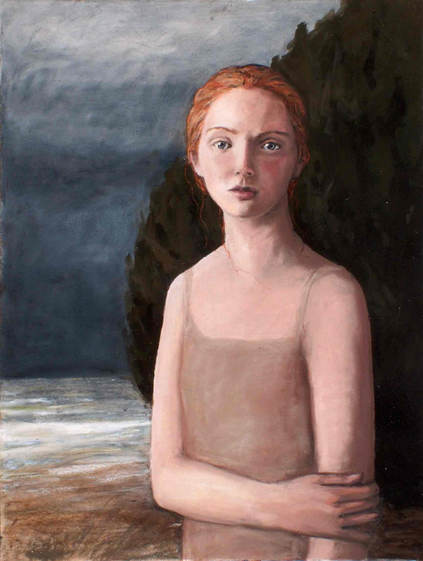Меган Руденрус. Девушка на берегу