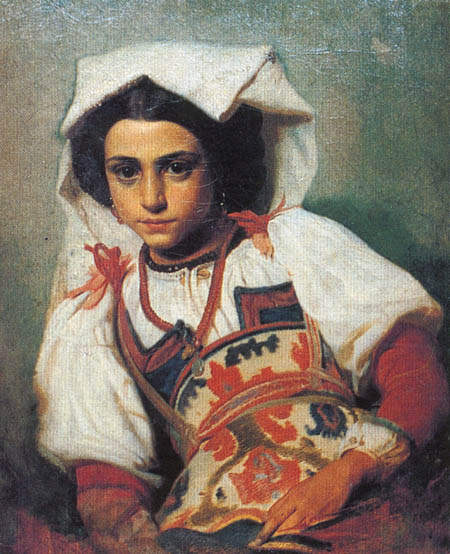 Pavel Petrovich Chistyakov. 's from the. Portrait of a decade of Roman women