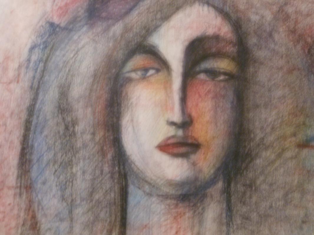 Nino Archilovna Givishvili. Portrait of a woman.