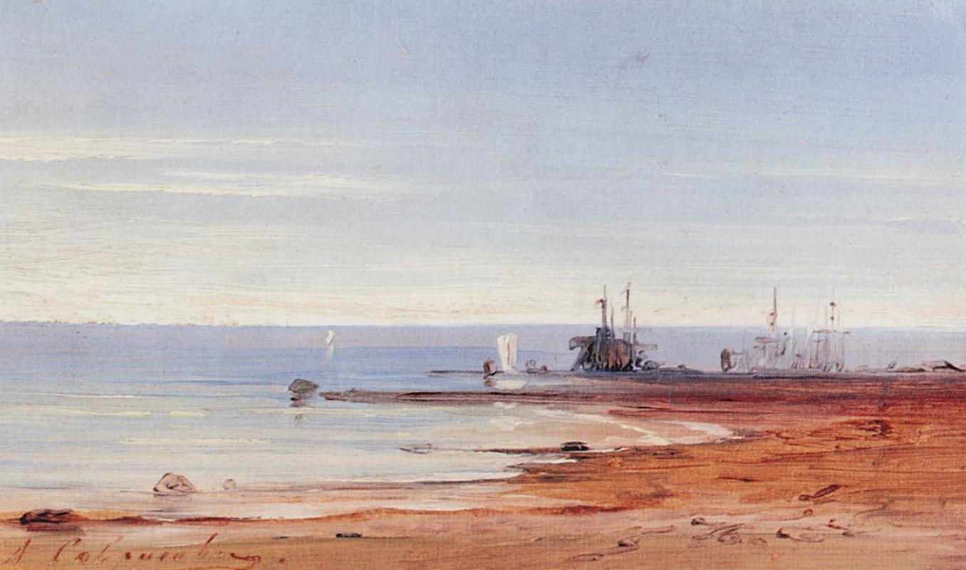 Алексей Кондратьевич Саврасов. Море