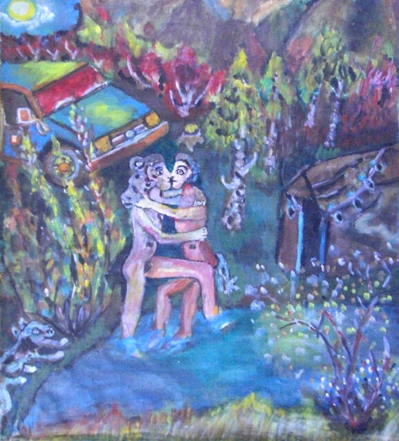 Alexander Aleksandrovich White. Night of love