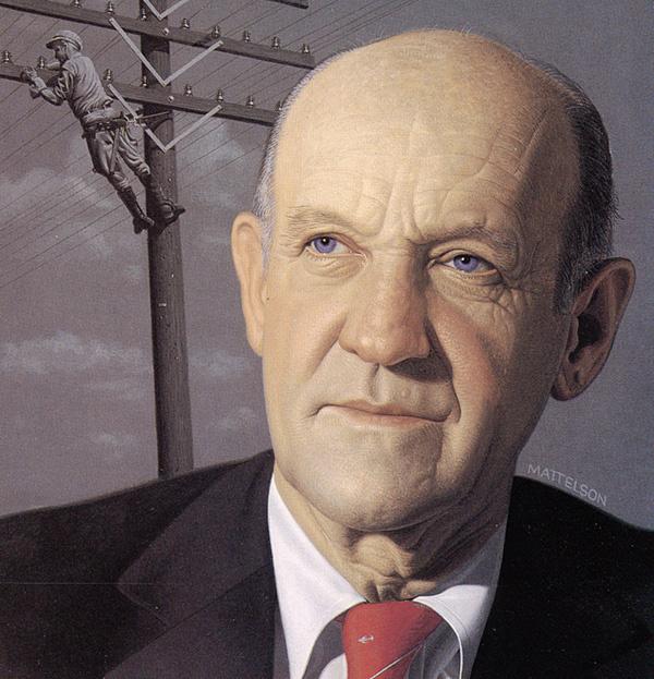 Марвин Маттелсон. Портрет мужчины
