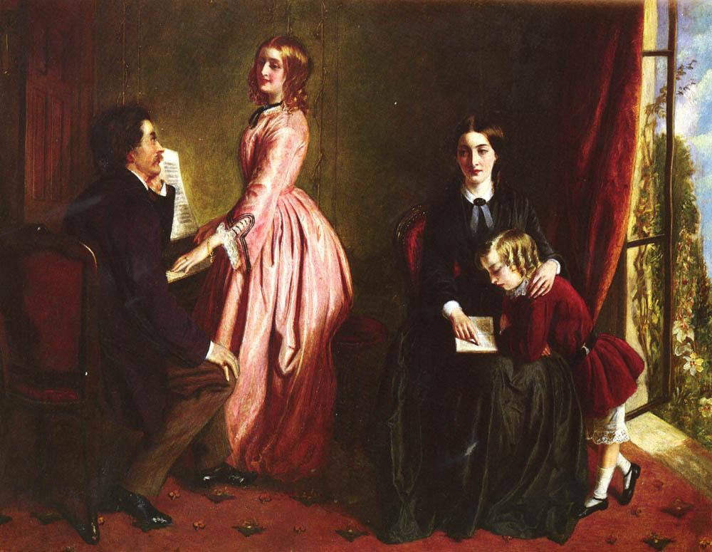 Rebecca Solomon. The governess
