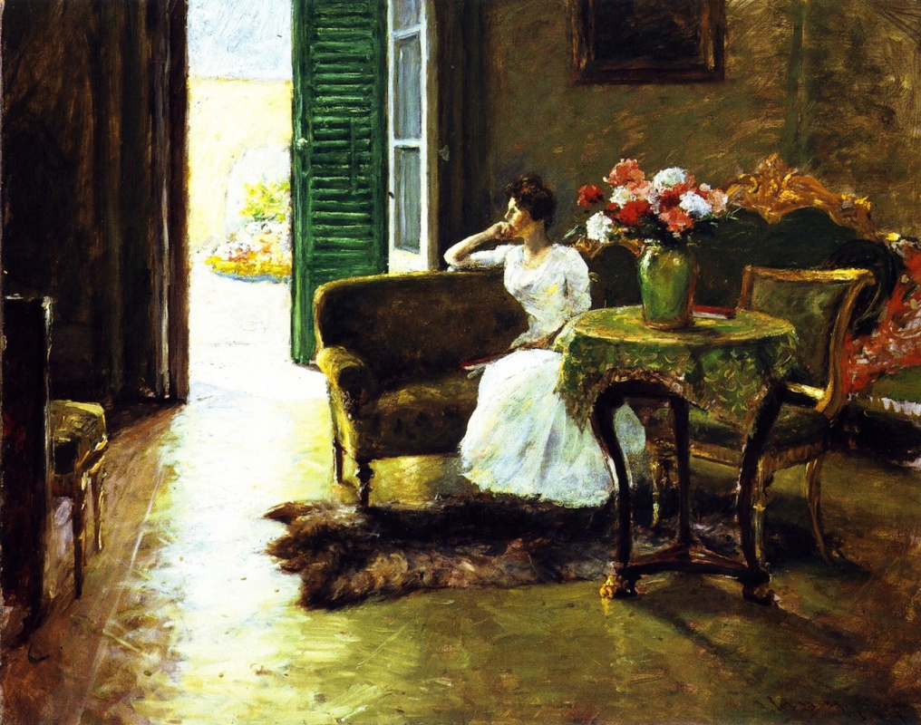 William Merritt Chase. Memories. Italian Villa