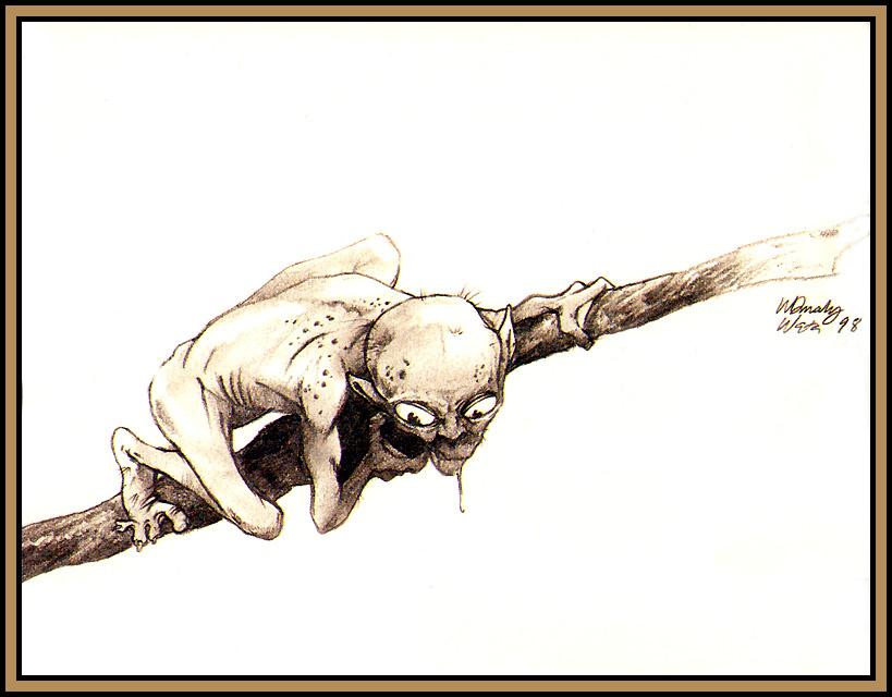 Warren Mahi. Gollum