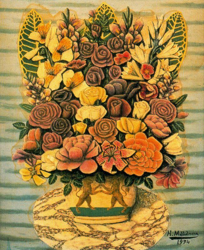 Хигинио Маллебрера. Желтый букет