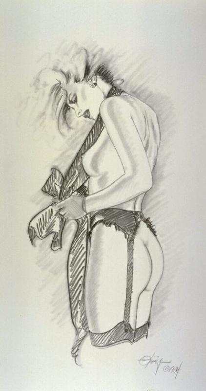 Оливия Де Берардинис. Пин-ап 289