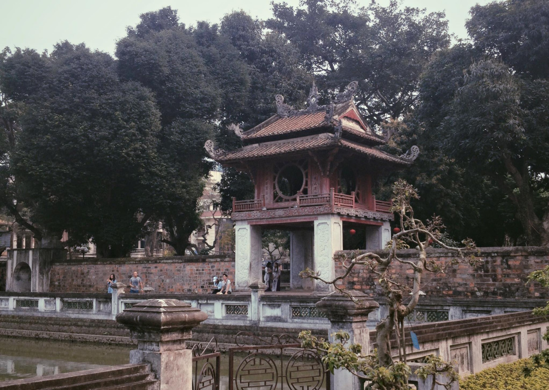 Truong Cong Huy. Quoc Tu Giam Temple