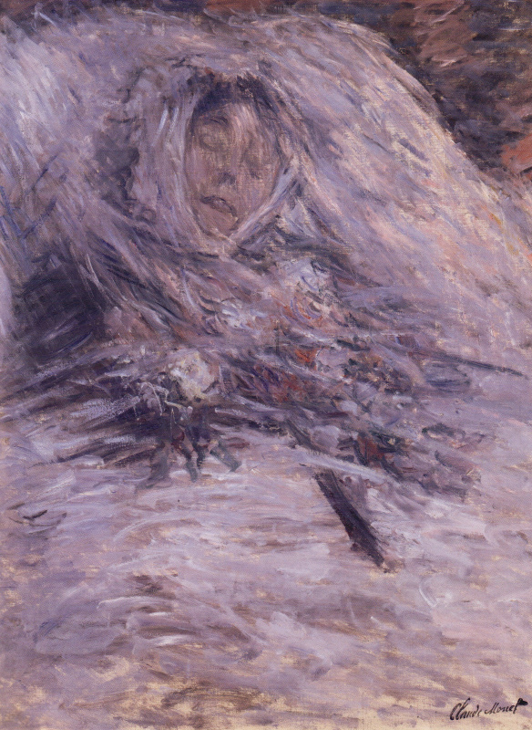 Claude Monet. Camille on her deathbed