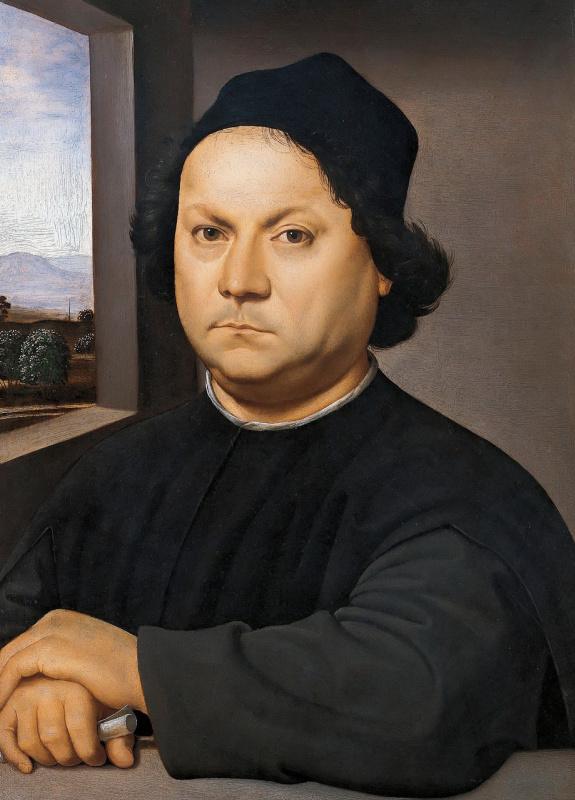 Raphael Sanzio. Portrait Of Perugino