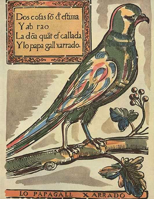Пере Абадаль. Попугай