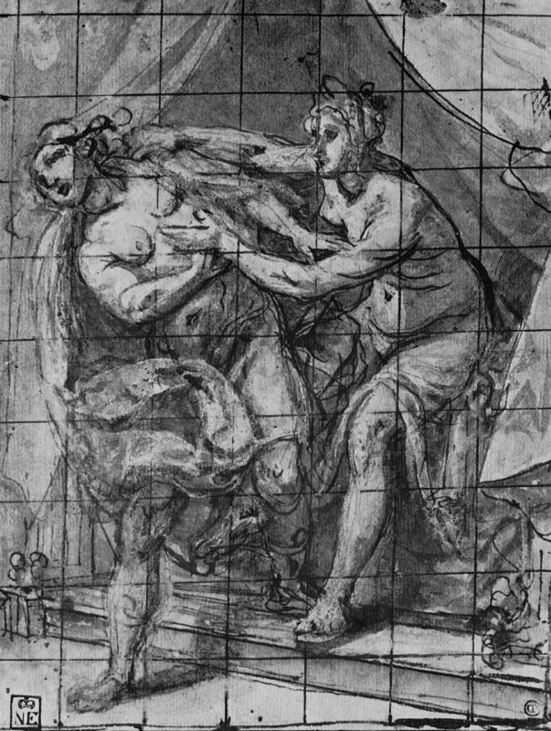Лодовико Чиголи. Иосиф и жена Потифара