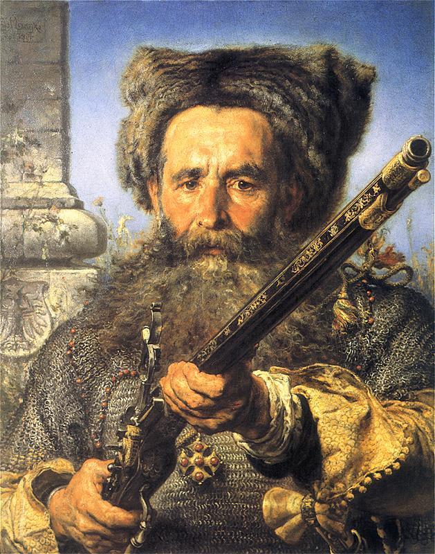 Ян Матейко. Портрет гетмана Остафия Дашкевича