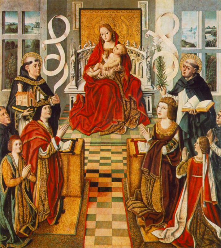 Fernando Gallego. Madonna of the Catholic kings