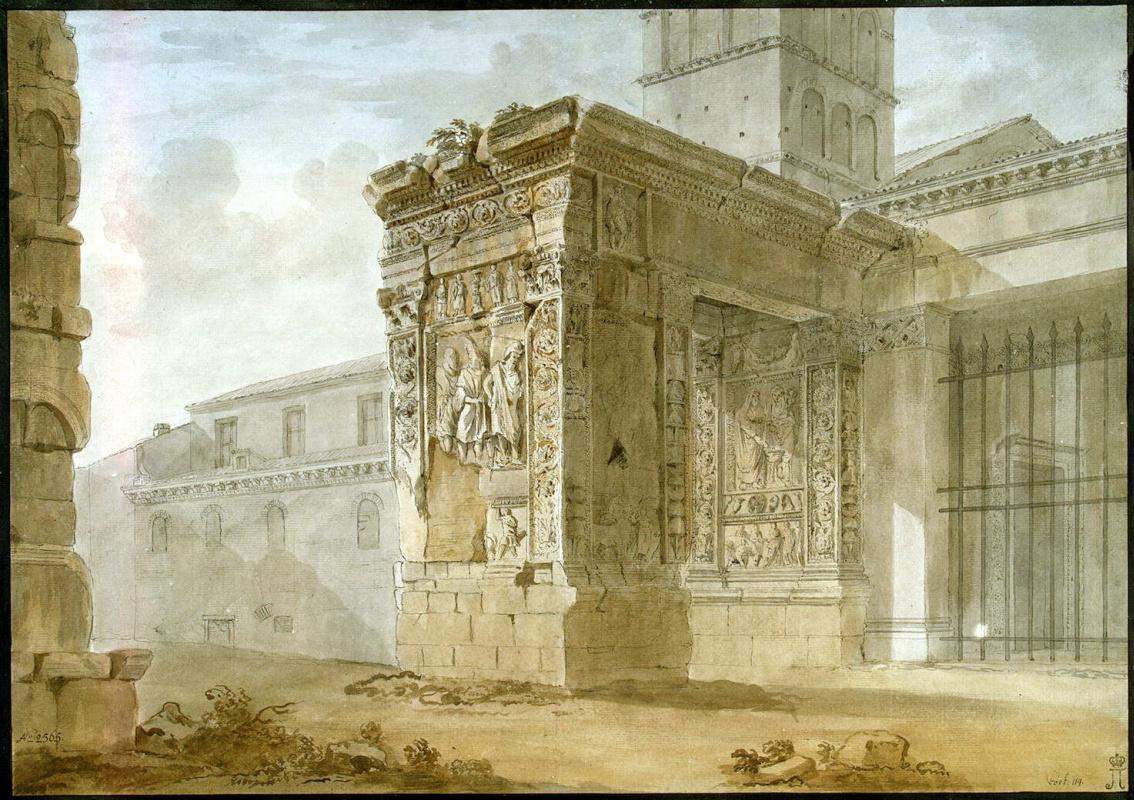 Шарль-Луи Клериссо. Арка ювелиров в Риме