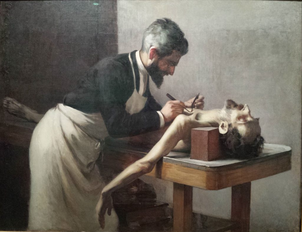Annie Hopf. Autopsy (Professor Poirier, Paris)