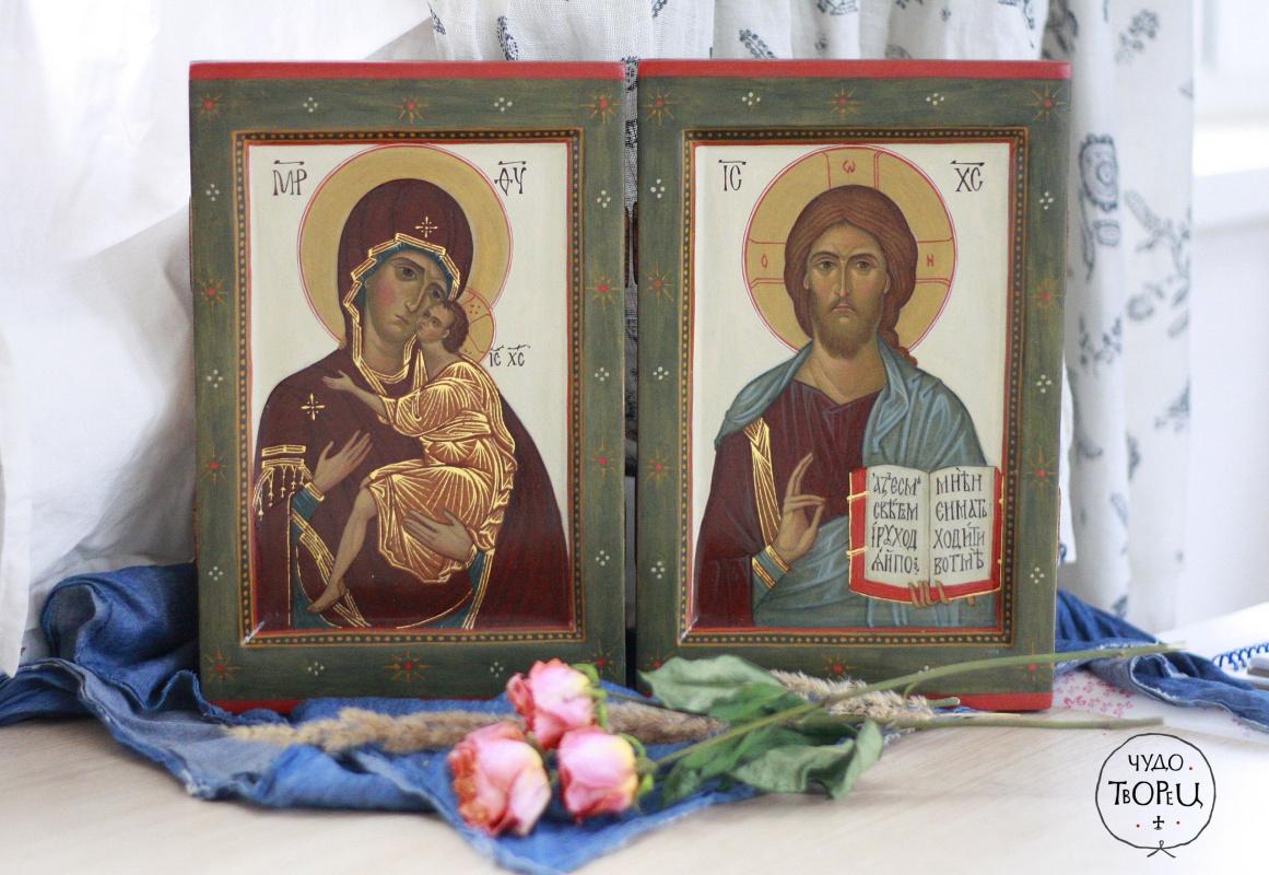 Sasha Devyatkina. Wedding icons to order