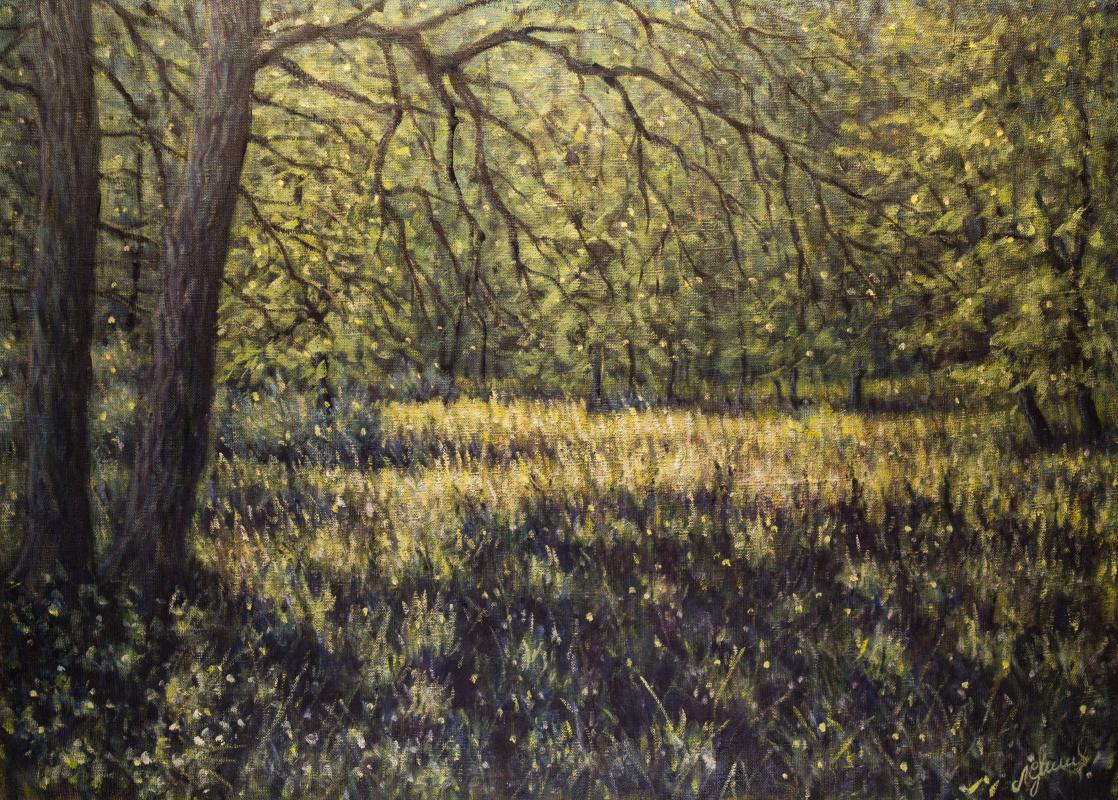 Valery Levchenko. No. 400 Forest glade