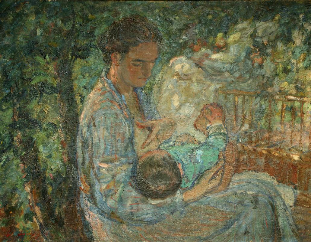 Lev Ilyich Aronov. Motherhood