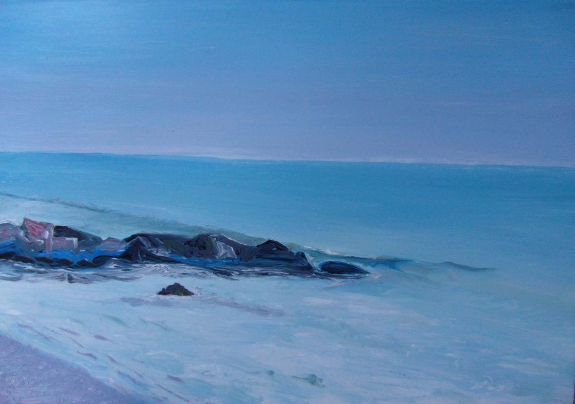 Valery Bronnikov. April coast