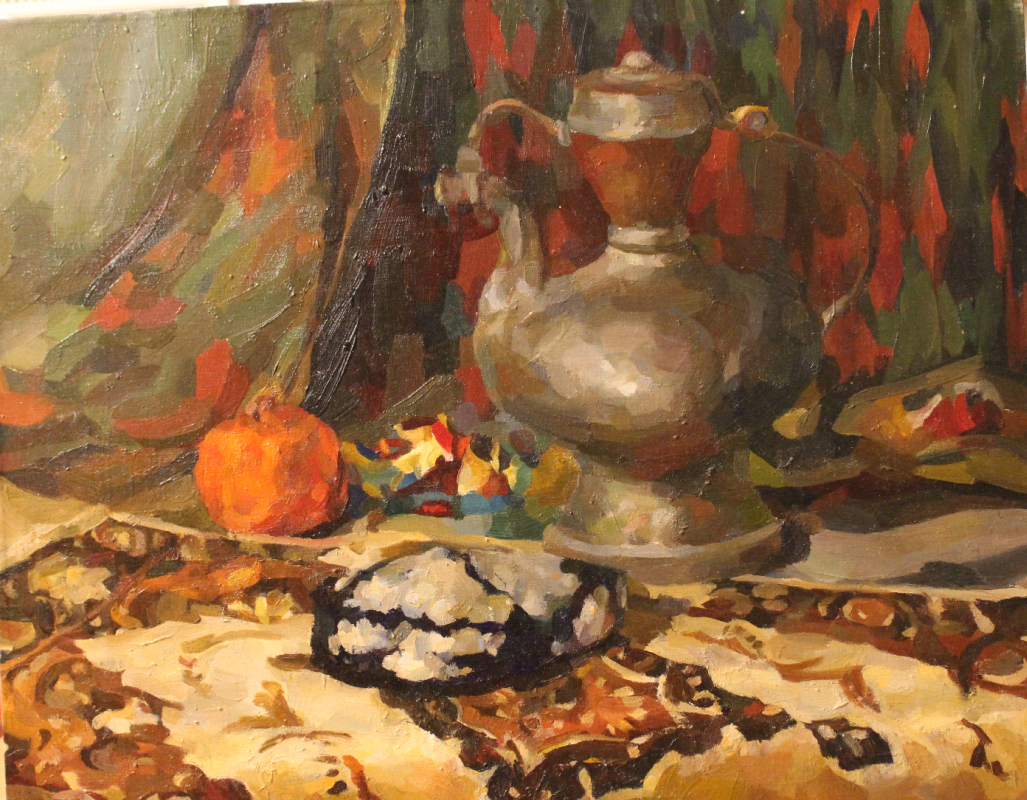 Tatyana Alexandrovna Muratova. Kazakh still life