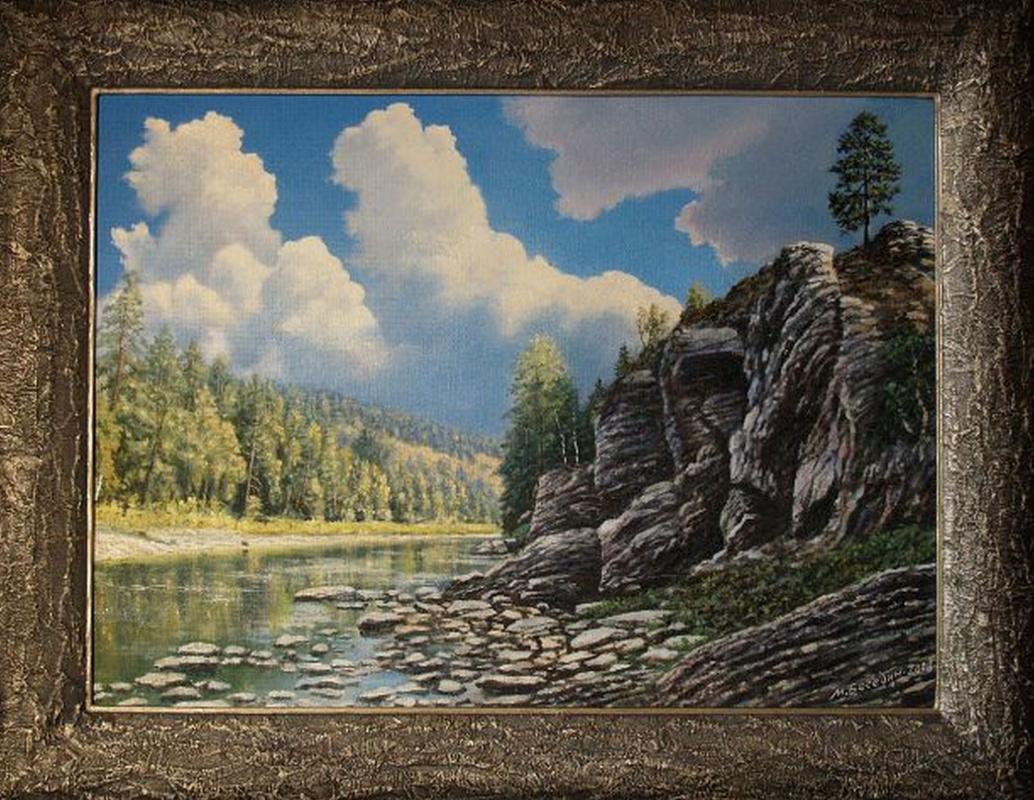Michael Besedin. The River Nugush.