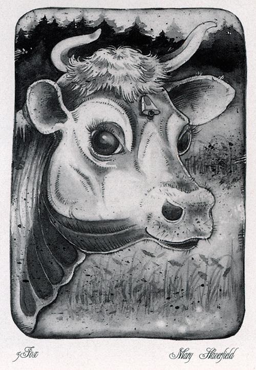Мэри Хейверфилд. Корова