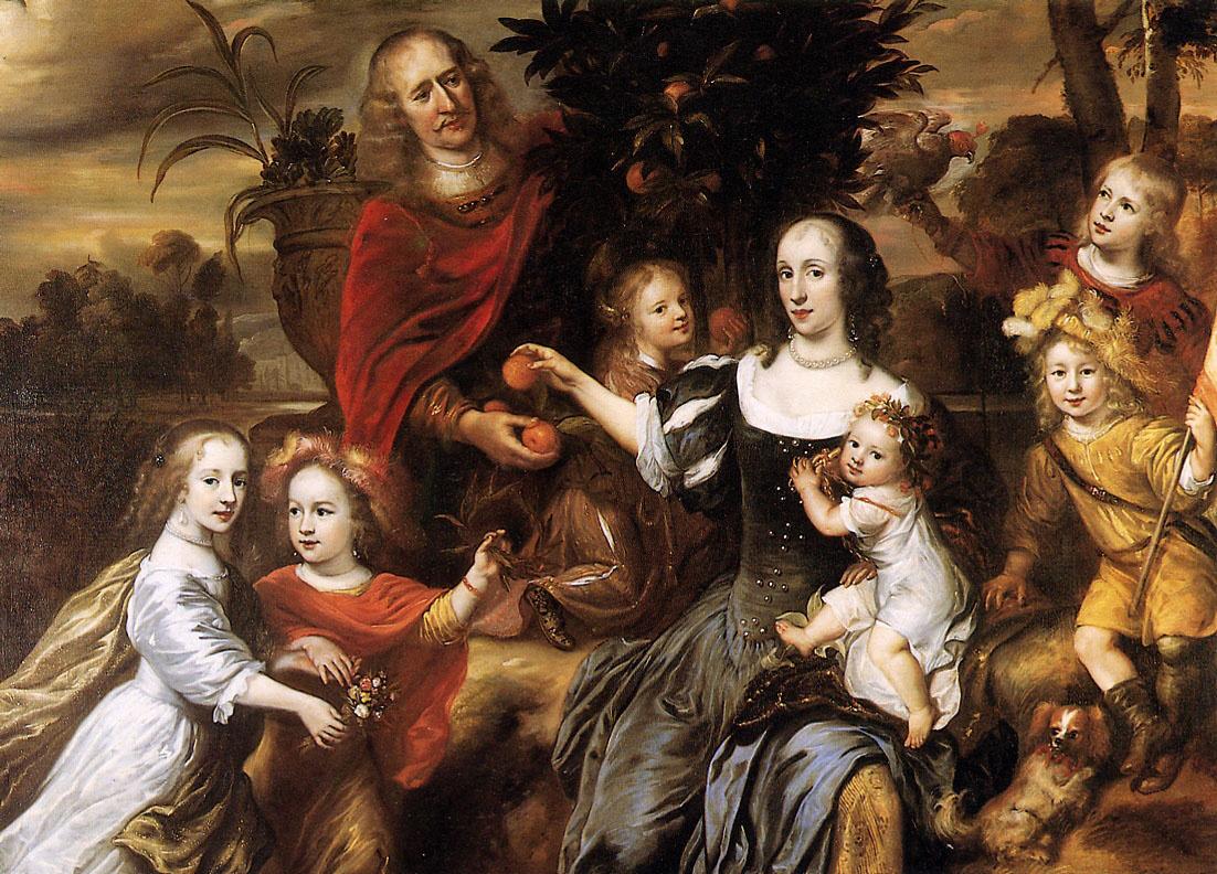 Юрриаен Печи. Портрет неизвестной семьи