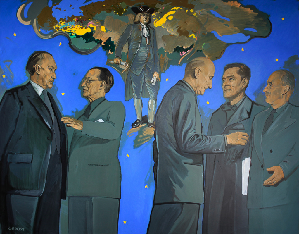 OREST HRYTSAK. Founding fathers of Europe