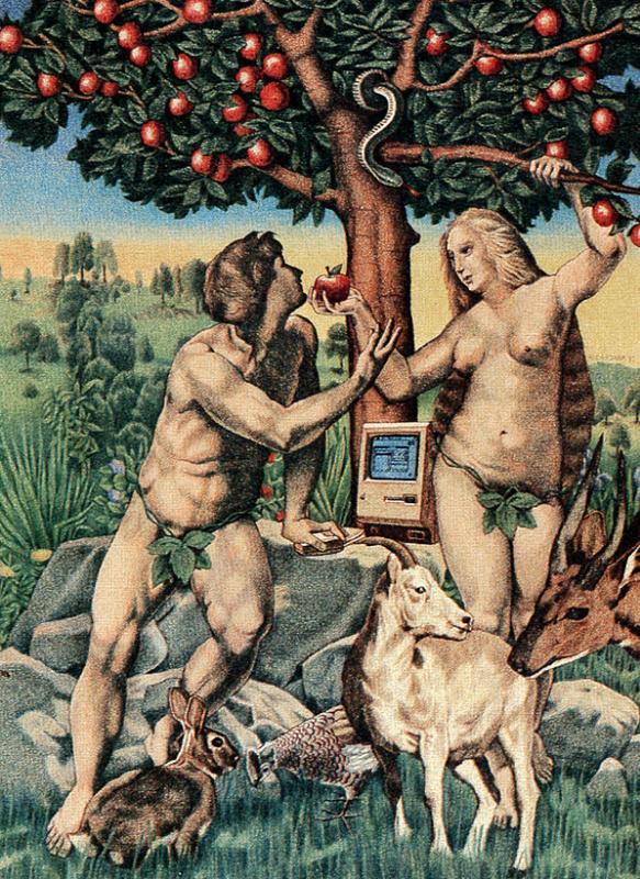 Рональд Чиронна. Адам и Ева