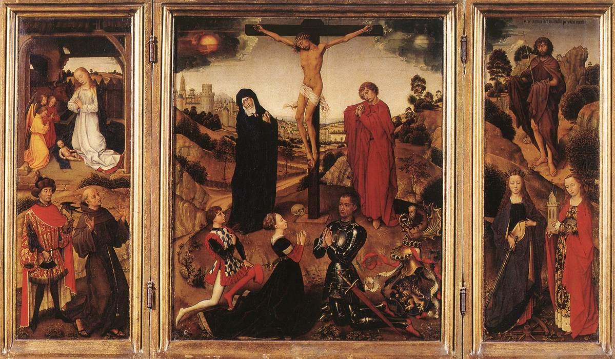 Rogier van der Weyden. Sforza Triptych