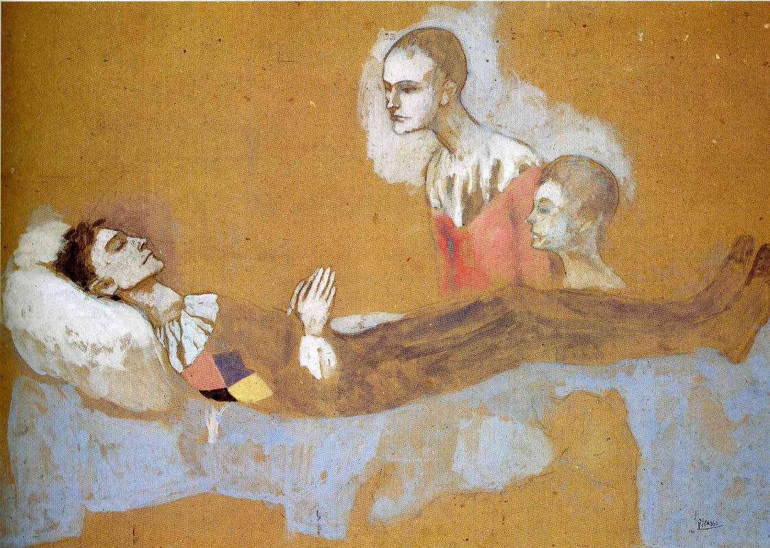 Пабло Пикассо. Смерть Арлекина