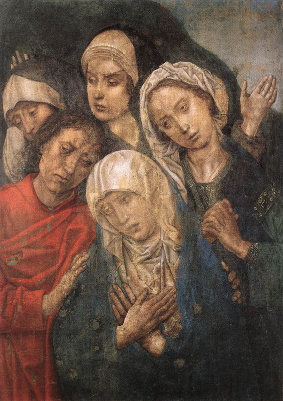 Ван Дер Гоес Гюго. Оплакивание Христа