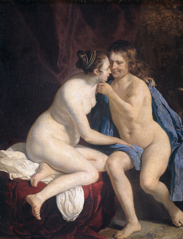 Jakob van Loo. Nude man and woman