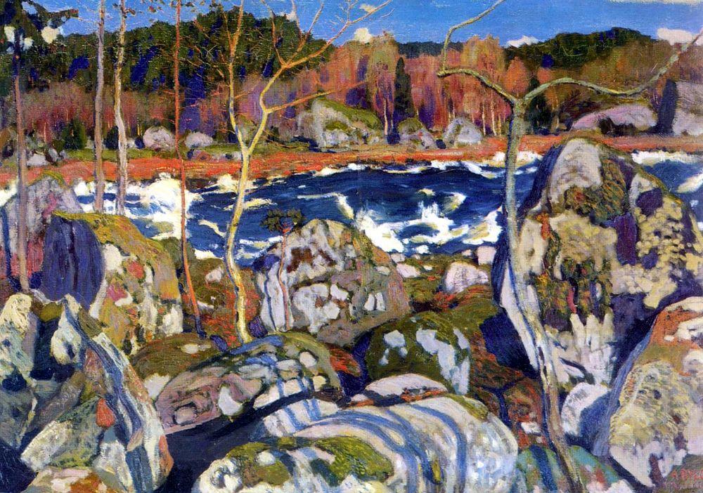 Аркадий Александрович Рылов. Весна в Финляндии