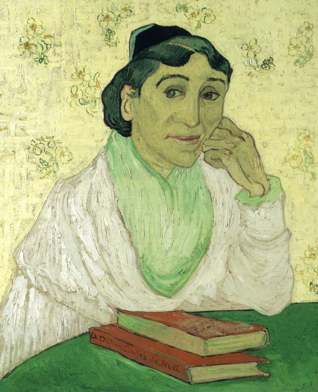 Винсент Ван Гог. Арлезианка Мадам Жино (вариант)
