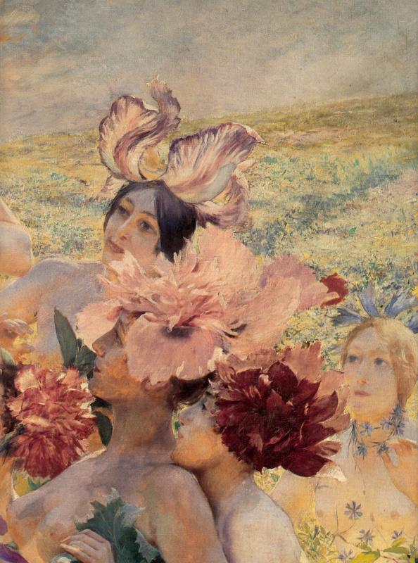 Жорж Антуан Рочегросс. Рыцарь цветов